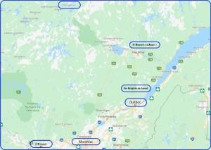 Voyage Québec Janvier 2020