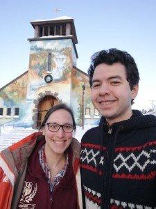 -2020-01-15 Canada Saint Ferréol des Neiges Margaux et Ludo