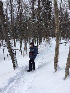 IMG_3117 2020-01-06 Canada Ste Brigitte de Laval - Sentier de la montagne à 2 têtes Patrick