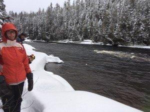 IMG_3286 2020-01-13 Canada Saint Honoré Sentier de la rivière Shipshaw - Chute Gagnon Patrick Ludo Margaux