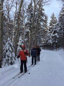 IMG_3326 2020-01-14 Canada Chicoutimi Parc de la rivière du Moulin Margaux Patrick Ludo