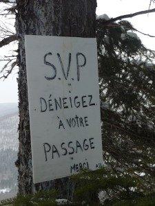P1070762 2020-01-06 Canada Ste Brigitte de Laval - Sentier de la montagne à 2 têtes Point de vue