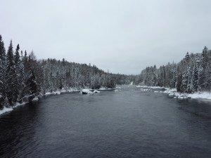 P1080041 2020-01-13 Canada Saint Honoré Sentier de la rivière Shipshaw - Chute Gagnon