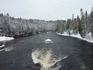 P1080042 2020-01-13 Canada Saint Honoré Sentier de la rivière Shipshaw - Chute Gagnon